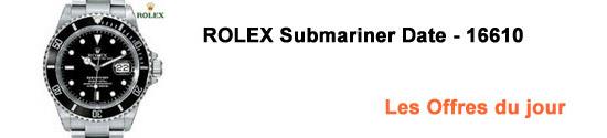Rolex Submariner Date 16610: Les Offres du jour