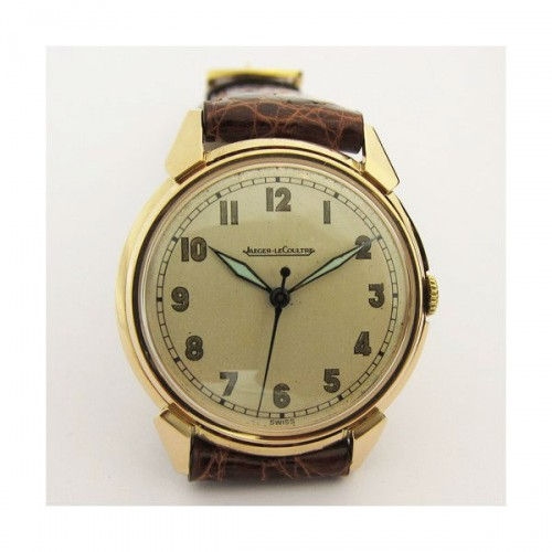 Jaeger lecoultre montre m canique en or rose occasion for Jaeger lecoultre occasion