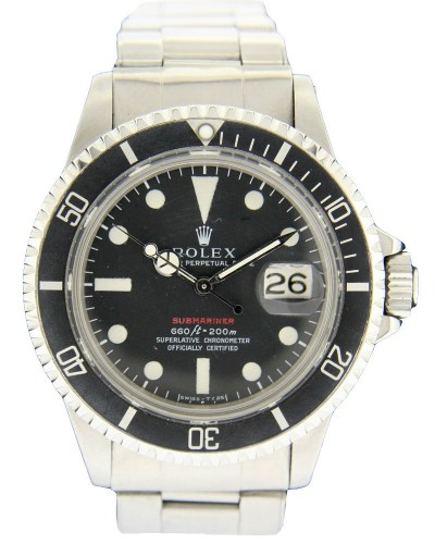 rolex submariner 1680 rouge montre luxe occasion. Black Bedroom Furniture Sets. Home Design Ideas