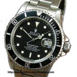 Rolex Submariner 16800 de 1987