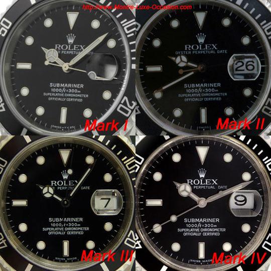 Cadrans Rolex Submariner 16610