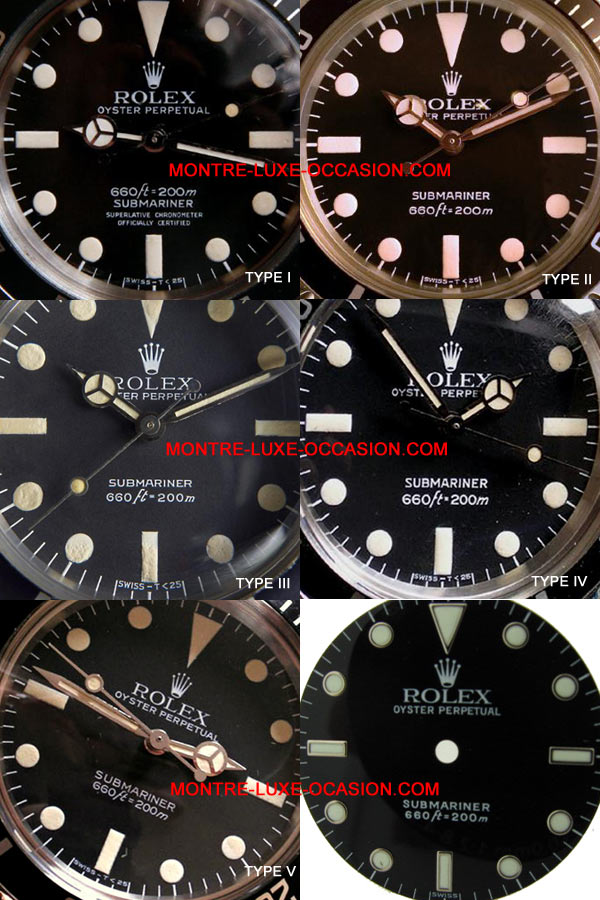 rolex-submariner-5513-types-cadrans-mark