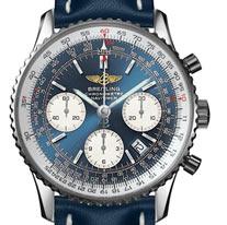 Chronographe Breitling Navitimer Bleu