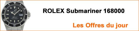 Montres ROLEX Submariner 168000 Occasion : Les Offres du jour