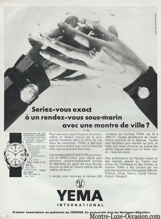 Montre Yema Plongée Sous Marine Jour date 1960_Montre_-luxe-occasion.com (2)