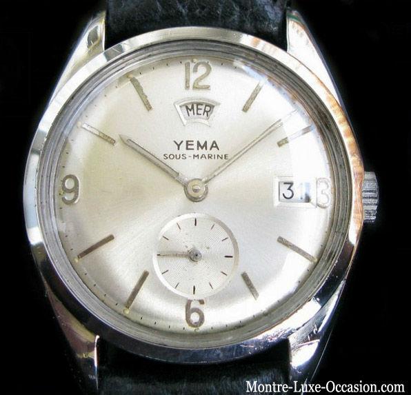 Montre Yema Plongée Sous Marine Jour date 1960_Montre_-luxe-occasion.com (3)