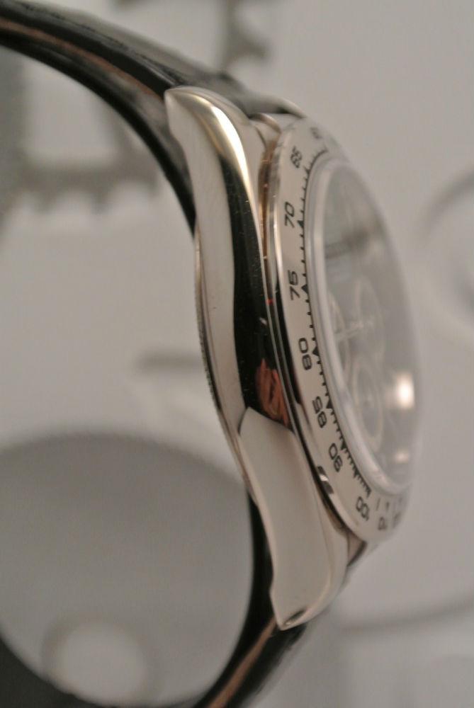 "Rolex Daytona \""Zenith\"" Or Blanc Montre Luxe Occasion"