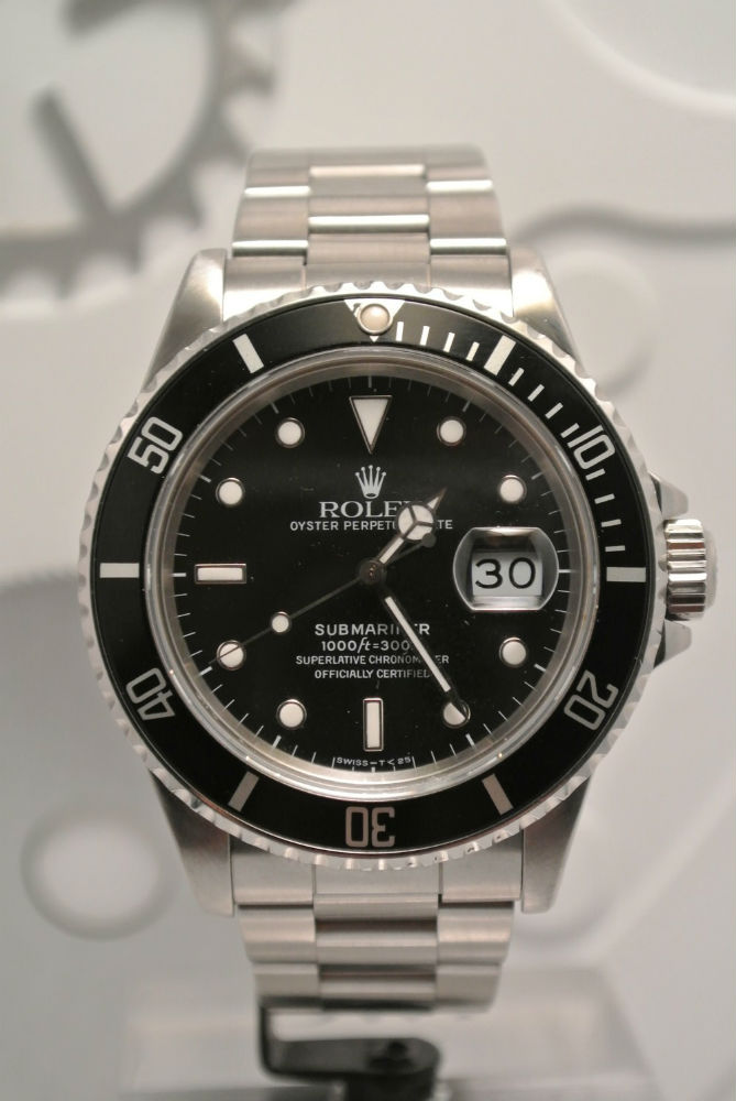 Rolex Submariner Date 16610 LN Montre Luxe Occasion