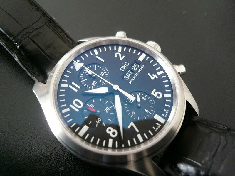 IWC Montre d\'Aviateur Chrono-Automatic