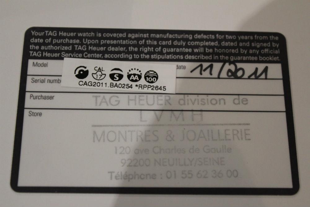 TAG HEUER SLR Calibre 17