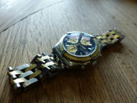 Breitling Chronomat - Or et Acier