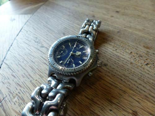 Tag Heuer link chronometer