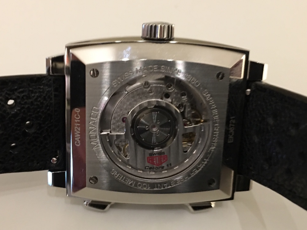Montre Chronographe TAG HEUER Monaco Calibre 11
