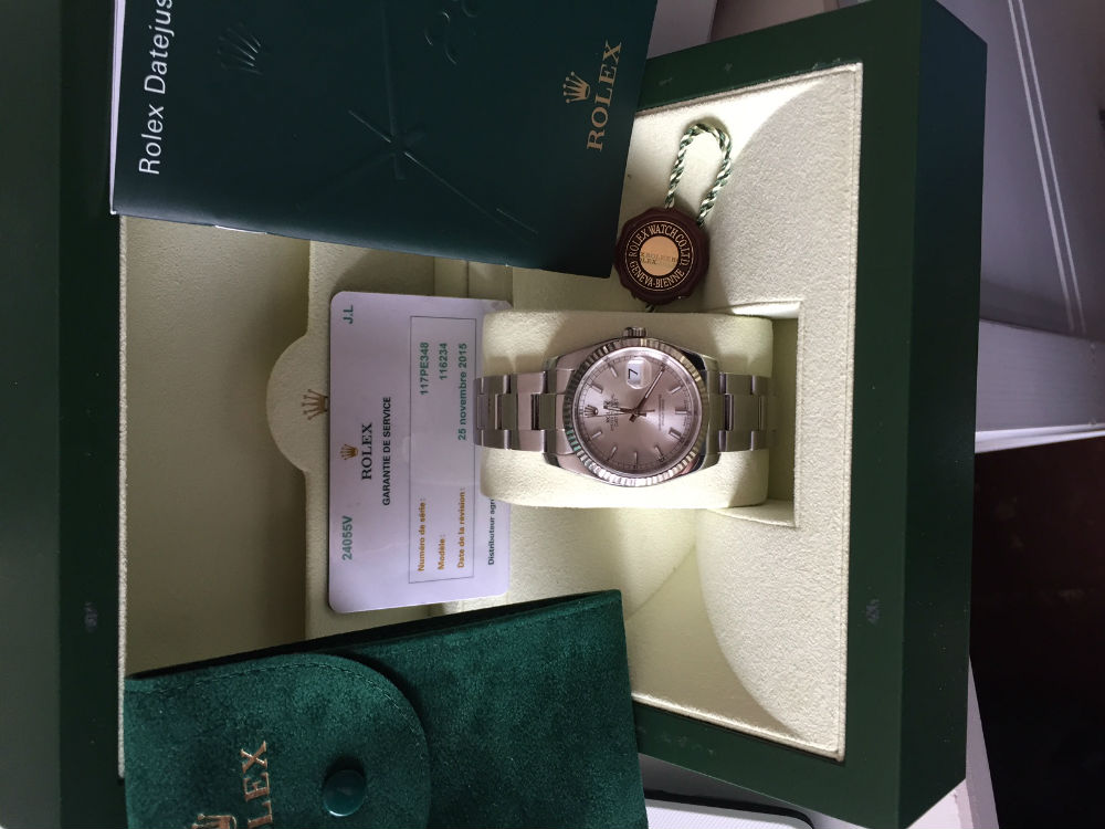 ROLEX Oyster Perpetual 116234
