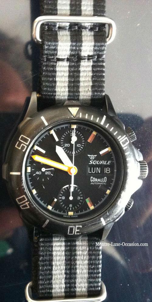 Chronographe Valjoux 7750 - Montre de plongée 200m (2)