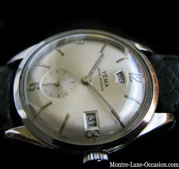 Montre Yema Plongée Sous Marine Jour date 1960_Montre_-luxe-occasion.com (6)