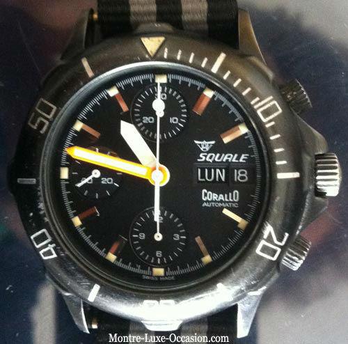 Chronographe Valjoux 7750 - Montre de plongée 200m (5)