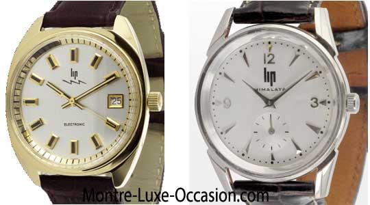 styles frais vente chaude réel dessin de mode Montres Lip Occasion - Montre-Luxe-Occasion.com