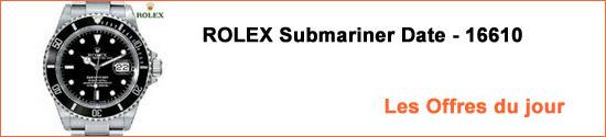 Montres ROLEX Submariner 16610 Occasion : Les Offres du jour