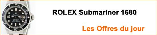 Montres ROLEX Submariner 1680 Occasion : Les Offres du jour
